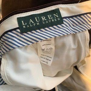 Lauren Ralph Lauren  Brown corduroy men's pants